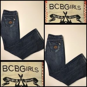 BCBG Girls Woman denim ladies Jean size 30 bootcut